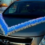 сине-белая лента на машину купить