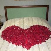 украшение свадебной кровати купить