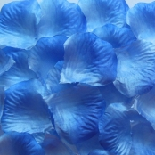 лепестки роз сине-голубые купить