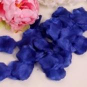 лепестки роз искусственные синие купить