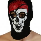 маска пират мертвец, маска шапка