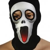 маска шапка крик ужаса