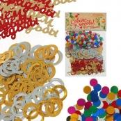 конфетти с обручальными кольцами фото