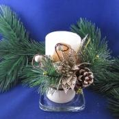 новогодние свечи ручной работы фото