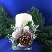 новогодние свечи фото