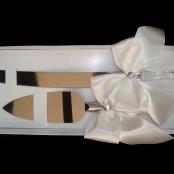 нож и лопатка для свадебного торта фото