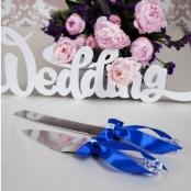 для свадебного торта синие