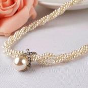 жемчужное ожерелье на свадьбу купить