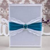 папка для свидетельства о заключении брака синяя лазурная фото