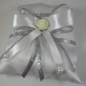 серебряная подушечка для колец картинки, фото