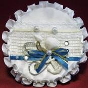 подушеча для колец в морском стиле купить
