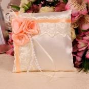 персиковые подушечки для колец фото