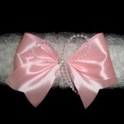 подвязка розовая