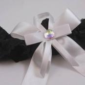 подвязка невесты черная купить