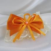 оранжевые подвязки фото