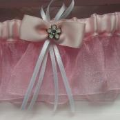 подвязка розовая купить