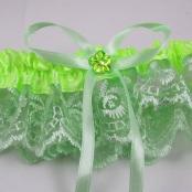 салатовая подвязка фото
