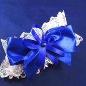 подвязка синяя фото