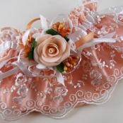 подвязка персиковая купить