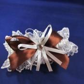 подвязка невесты шоколадная фото