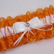 оранжевая подвязка купить