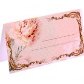 банкетная карточка шебби шик фото