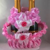 розовая свадьба украшения фото