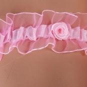 розовая подвязка невесты купить