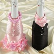 свадебные костюмы на шампанское розовые фото