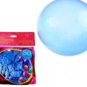 шар голубой металлик