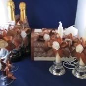 шоколадные свадебные украшения фото