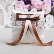 подушечка для колец шоколадная купить