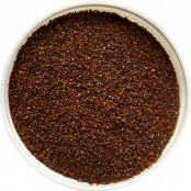 шоколадный коричневый песок для песочной церемонии фото