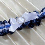 синяя подвязка
