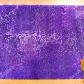 сиренвая фиолетовая фотозона с аренду из живых пайеток