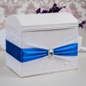 синий сундучок на свадьбу