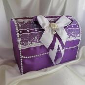 фиолетовый сундучок