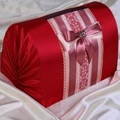 сундучок на свадьбу красный
