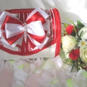 коробка для денег красная свадебная фото