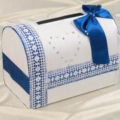 синяя свадьба коробка купить
