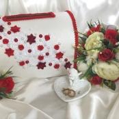 свадебная казна крудевная, цветочная