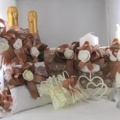 свадебная коллекция светло-коричневая фото