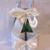 свадебное шампанское айвори фото