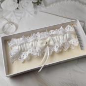 подвязка невесты айвори премиум