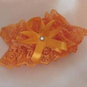 оранжевая подвязка фото