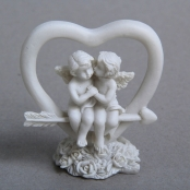 свадебные ангелочки в сердце