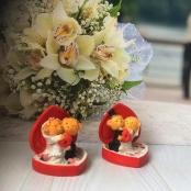 сувенир мишки жених  невеста фото