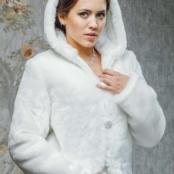 свадебная шубка утепленная фото