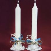свадебные свечи морской стиль фото