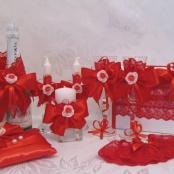 украшение свадьбы красной фото